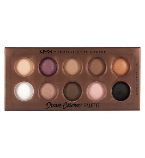 NYX Professional Makeup Dream Catcher Shadow Palette - golden horizons