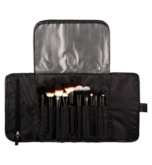 NYX Professional Makeup bags - Black croc brush roll