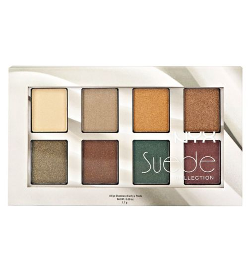 NYX Professional Makeup Set Makeup - Suede Shadow Palette