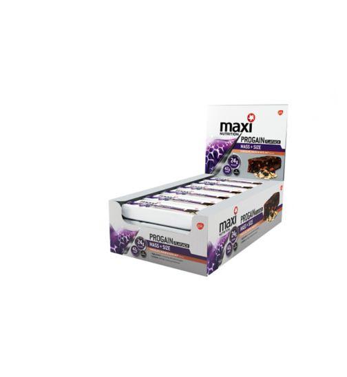 MaxiNutrition Progain protein flapjack - Chocolate, Raisin and Hazelnut x 12 bars