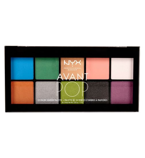 NYX Professional Makeup Avant Pop shadow palette - Art Throb