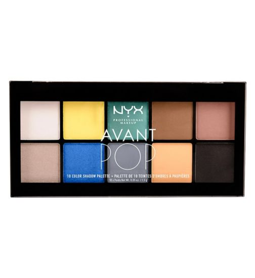 NYX Professional Makeup Avant Pop! Shadow Palette Surreal My Heart