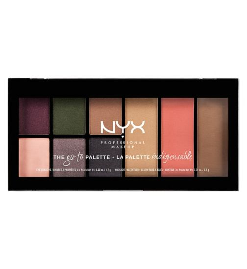 NYX Professional Makeup Go-To-Palette Bon Voyage