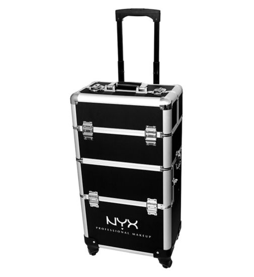 NYX Professional Makeup Artist Train Case - 4 Tier