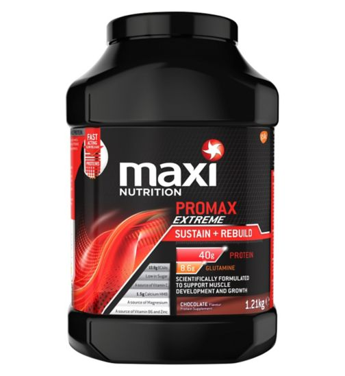 MaxiNutrition Promax Extreme Sustain + Rebuild Chocolate Flavour 1.21kg