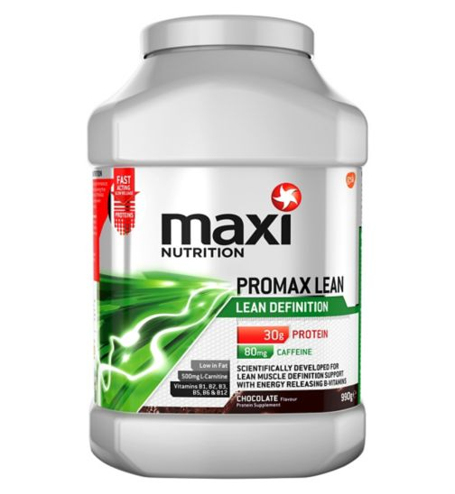 MaxiNutrition Promax Lean Chocolate Flavour 990g