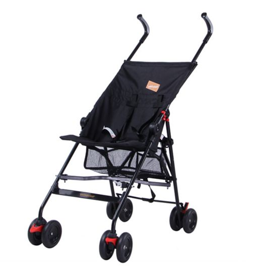 Babyway Park Stroller - Black