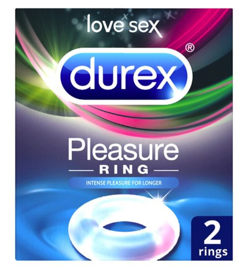 Durex Pleasure Ring - 2 Rings