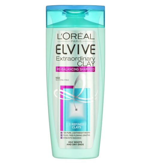 L'Oreal Paris Elvive Extraordinary Clay Re-Balancing Shampoo 250ml
