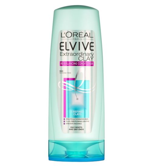 L'Oreal Paris Elvive Extraordinary Clay Re-Balancing Conditioner 250ml