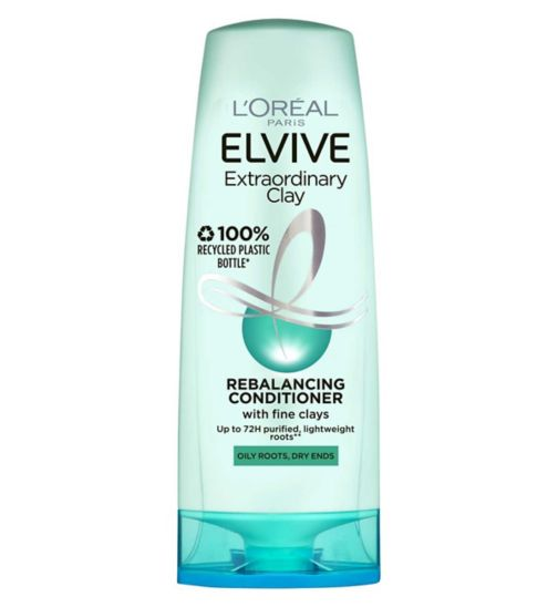 L'Oreal Paris Elvive Extraordinary Clay Re-Balancing Conditioner 400ml