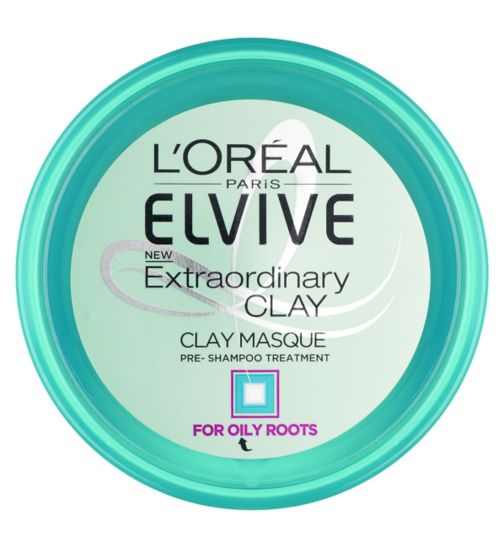 L'Oreal Paris Elvive Extraordinary Clay Masque Pre Shampoo Treatment 150ml