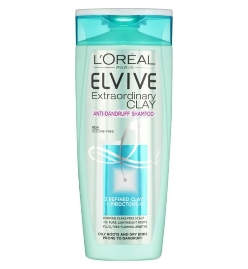 L'Oreal Paris Elvive Extraordinary Clay Anti-Dandruff Shampoo 250ml