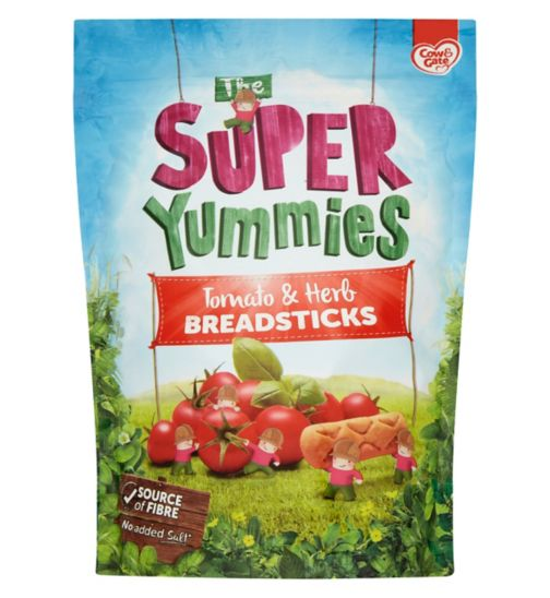Cow & Gate The Super Yummies Tomato & Herb Breadsticks 12+ Months 100g