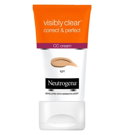 Neutrogena Visibly Clear Correct & Perfect CC Creams - Light