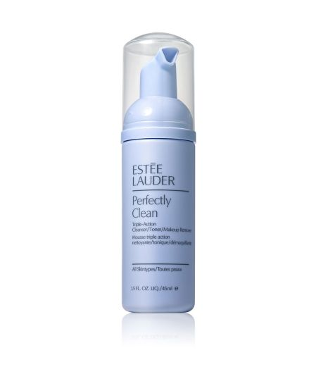 Estee Lauder Perfectly Clean Triple-Action Cleanser/Toner/Makeup Remover 45ml