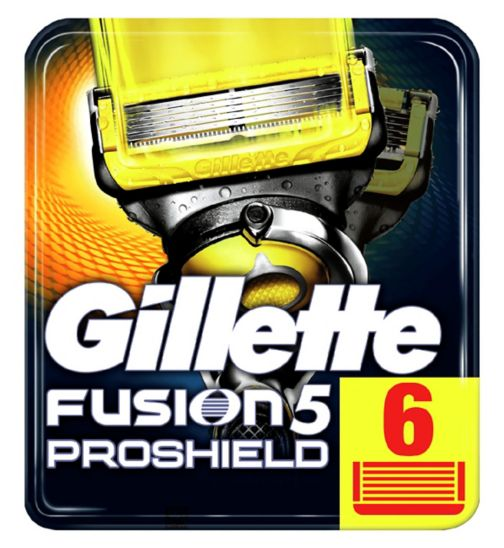 Gillette Fusion ProShield Blades 6 Pack