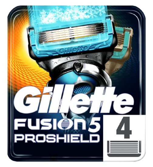 Gillette Fusion ProShield Chill Blades 4 Pack