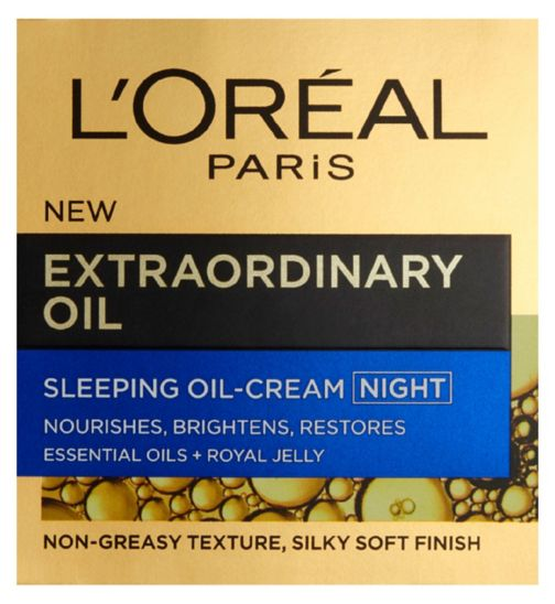L'Oreal Paris Extraordinary Oil Sleeping Oil Cream Night 50ml