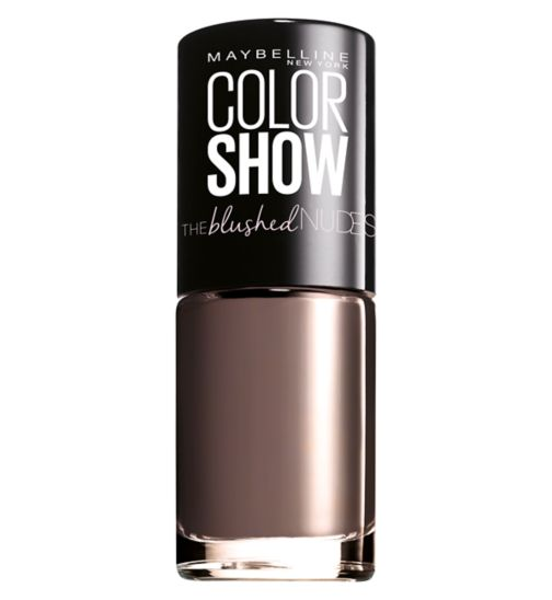 Maybelline Color Show Blushed Nudes Nail Polish