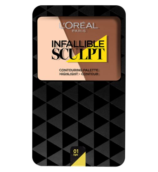 L'Oreal Paris Infallible Sculpt Contour Palette Light/Medium