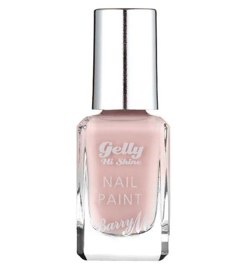 Barry M Gelly Hi Shine nail paint 43 Pink Lemonade 10ml