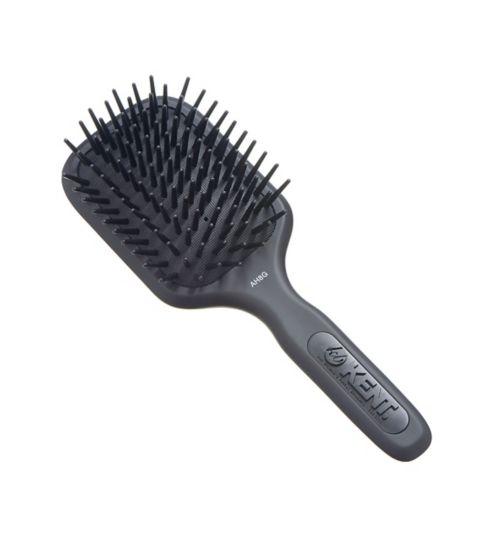 Kent Brushes AirHedz Medium fat pin paddle brush black AH8G