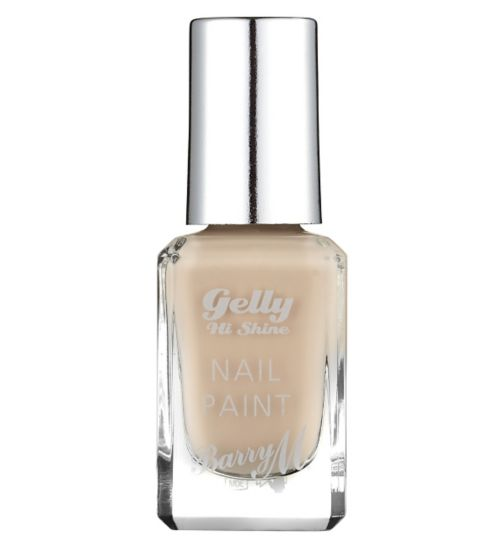 Barry M Gelly Hi Shine nail paint 44 Butterscotch Sundae 10ml