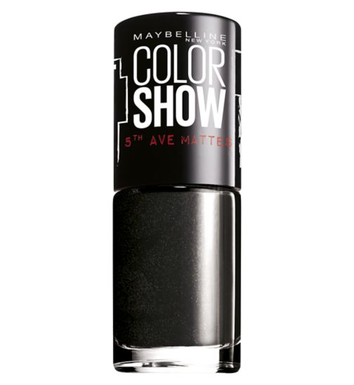 Maybelline Color Show 5th Ave Matte Nail Polish