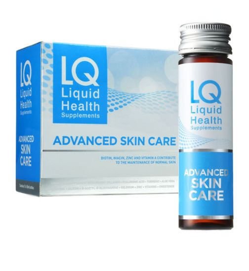 LQ Liquid Health Advanced Skin Care - 10 x 50ml Bottles