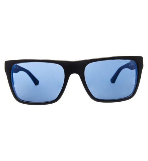 EMPORIO ARMANI Men's Black Sunglasses - EA4048