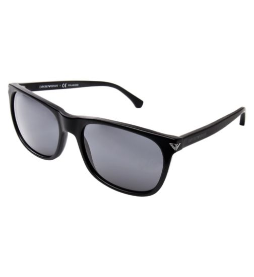 EMPORIO ARMANI Men's Black Sunglasses - EA4056