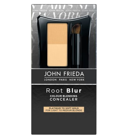 John Frieda Root Blur Colour Blending Concealer Platinum to Soft Gold