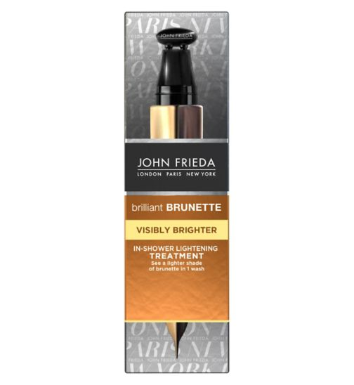 John Frieda Brilliant Brunette Visibly Brighter Express In-Shower Lightening Treatment 34ml