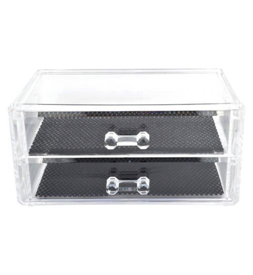 Danielle Creations Mid Size, 2 Drawer Make-up Organiser