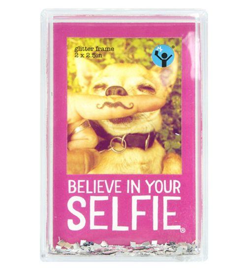 Shot2go Mini Glitter Selfie Frame Pink