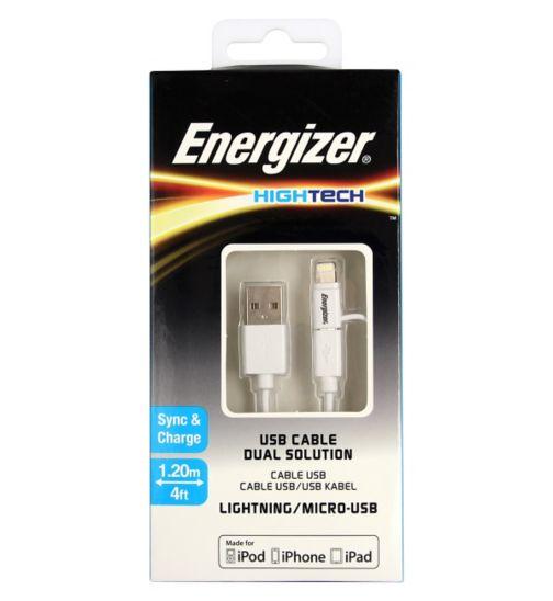 Energizer Dual Micro USB and Lightng USB