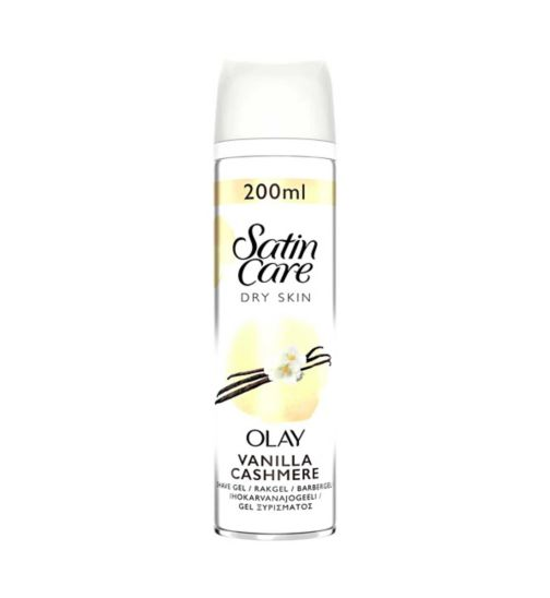 Gillette Venus Satin Care with a touch of Olay Vanilla Cashmere