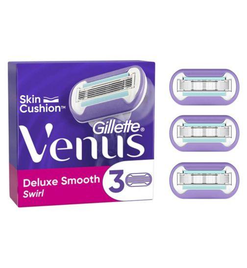 Gillette Venus Swirl Contour Blades 3 pack