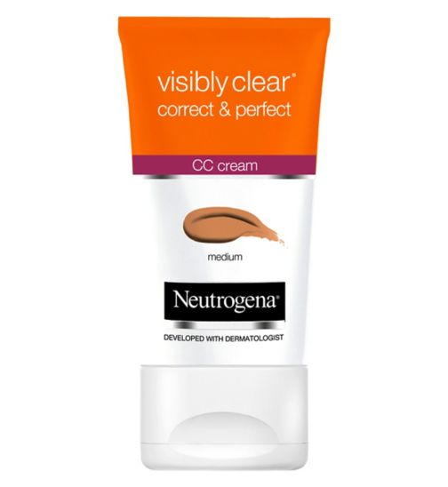 Neutrogena Visibly Clear  Correct & Perfect CC Creams - Medium