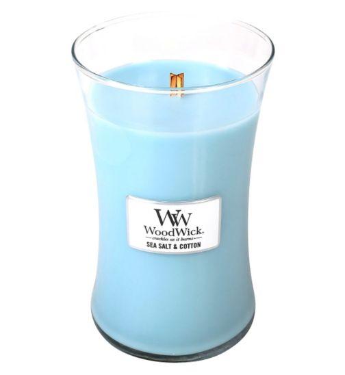 WoodWick Large Jar - Sea Salt Cotton