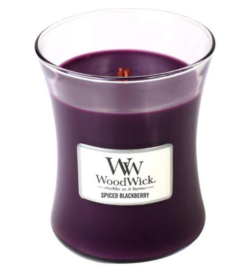 WoodWick Medium Jar - Spiced Blackberry