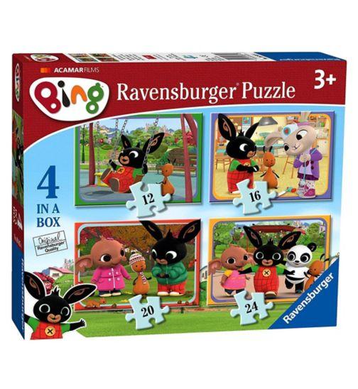 Ravensburger- Bing Bunny 4 in a box