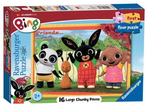 Ravensburger- Bing Bunny My First Floor Puzzle