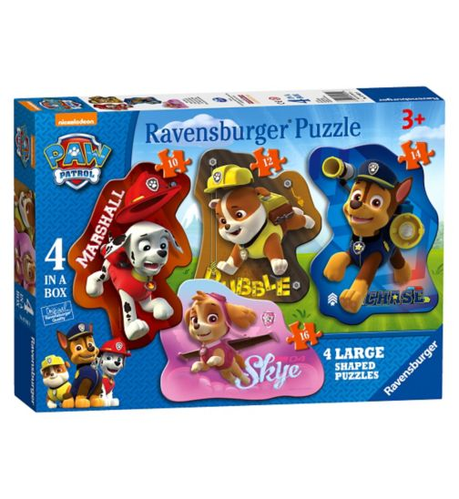 Paw Patrol Shaped Puzzles