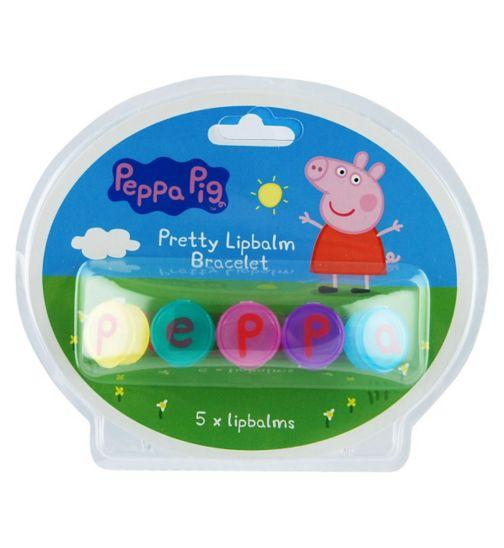 Peppa Pig lip balm bracelet