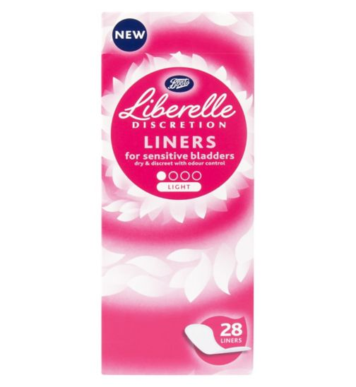 Boots Sensitive Bladder Light Liners 28 Pack