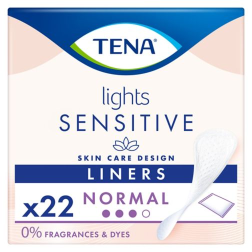 lights by TENA Incontinence Liners Single Wrap - 22 pack