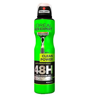 LOreal Men Expert Clean Power 48H Anti-Perspirant Deodorant 250ml