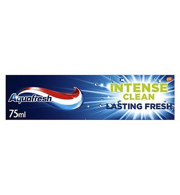 Aquafresh Intense Clean Lasting Fresh Toothpaste - 75ml